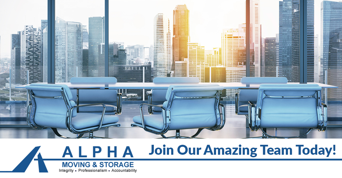 Careers At Alpha Moving Company New Jersey Alpha