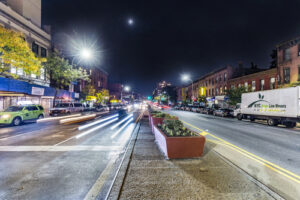 Moving services in the city: Park Slope, Brooklyn, New York